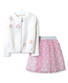 Комплект для девочки 3 в 1 Балет Baby Rose 2749