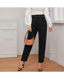 Брюки женские slouchy с широким поясом Office Style Berni Fashion WF-317