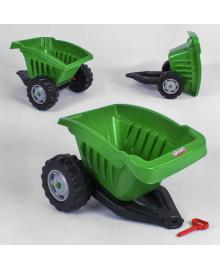 Прицеп для педального трактора Pilsan 07-317 (1) ЗЕЛЁНЫЙ Igr-90530