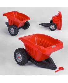 Прицеп для педального трактора Pilsan 07-317 (1) КРАСНЫЙ Igr-90583
