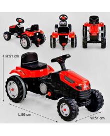 Трактор педальный 07-314 КРАСНЫЙ 76478