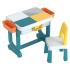 Детский многофункциональный столик и стульчик Poppet Трансформер 6 в 1, синий (PP-004)