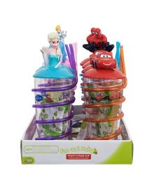 Чашка-непроливайка с конфетами Bip Disney (в ассорт.)