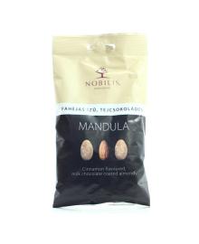 Конфеты Nobilis Миндаль в молочном шоколаде с корицей, 103 г
