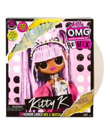 Игровой набор с куклой L.O.L. Surprise O.M.G. Remix Королева Китти 567240, 6900006557611