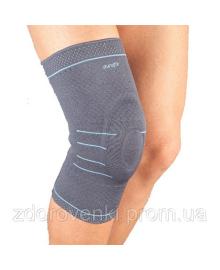 АУРАФИКС Наколенник Aurafix 119 с силиконовым кольцом, для стабилизации колена при движении