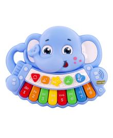 Музыкальная игрушка-пианино Baby Team Слоник