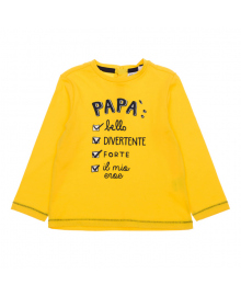 Джемпер BluKids Bio Cotton Papa Yellow 5613321, 8058578837698