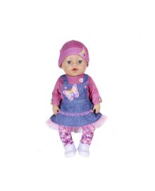Кукла Baby born Джинсовый лук серия Нежные объятия 43 см