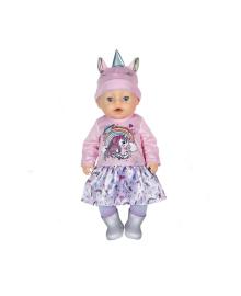 Кукла Baby born Очаровательный Единорог серия Нежные объятия 43 см