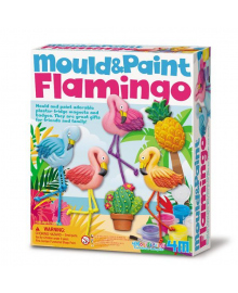 Набор для творчества 4M Лепные фламинго (00-04736), 4893156047366