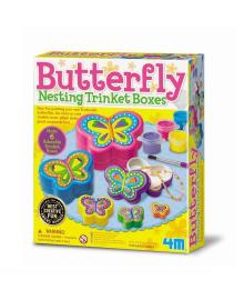 Набор для творчества 4M Шкатулки-бабочки (00-04664), 4893156046642