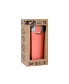 Термокружка из нержавеющей стали YES Orange 350 мл Оранжевая (707281) 5056137181605