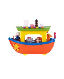 Детский игровой набор 12М+ Ноев ковчег Kiddieland на колесах Украинский язык (031881), 4894400318812