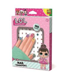 Детские наклейки для ногтей Ses Creative серии L.O.L Surprise! Модный Лук 198 шт (14193S)(654810), 8710341141936