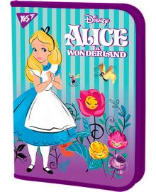 Школьная папка для труда пластиковая на молнии YES Alice FC 34х24см Фиолетовая (491878) 5056137175932