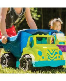 Игрушечный грузовик Battat Самосвал Зеленый с синим (BX1429Z), 6900006507616