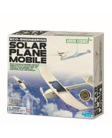 Детский конструктор самолет на солнечной батарее 4M (00-03376), 4893156033765
