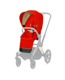 Комплект текстиля для коляски Cybex Priam Autumn Gold Red 520000683, 4058511854991