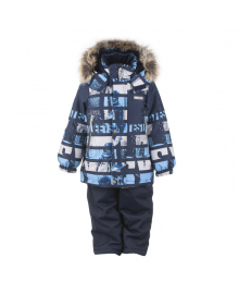 Куртка и полукомбинезон LENNE Alexis Blue/Grey 20340/6800, 4741578689032