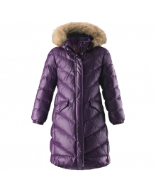 REIMA Пальто-пуховик для девочки 531302 531302_5930 фиолетовый, 158