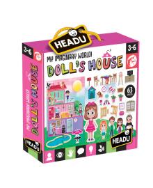 Развивающая игра Headu Кукольный домик Создай свой мир