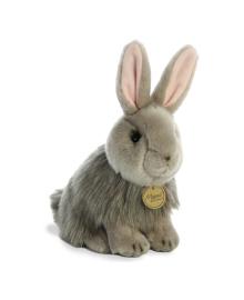 Мягкая игрушка Aurora DeLuxe Ангорский кролик 23 см