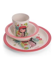 Детский набор посуды Fissman для девочек