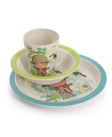 Детский набор посуды Fissman для мальчиков