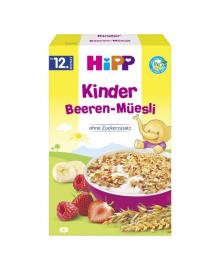 Детские органические хлопья HiPP с бананом и ягодами 200 г