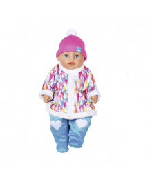 Кукла Baby born Зимняя малышка серия Нежные объятия 43 см