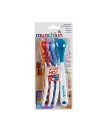 Термочувствительные ложки Munchkin White Hot разноцветные, 4 шт.