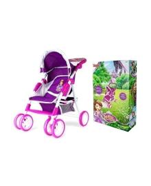 Игрушечная прогулочная коляска для кукол Shantou Jinxing plastics ltd Disney Sofia The First D1011S, 4897015540524