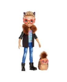 Кукла Enchantimals Ежик Хиксби с питомцем