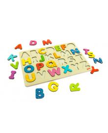 Сортер алфавит игрушка для детей от 3 лет goki Алфавит (57672), 4013594576727