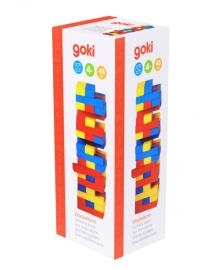 Универсальная настольная игра goki Дженга Разноцветная башня (HS973)