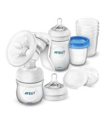 Набор для сцеживания молока Philips Avent Comfort Breastfeeding Support Kit SCD221/00, 8710103827825