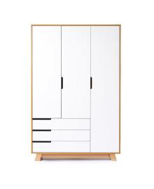 Шкаф Верес Manhattan 1200 с ящиками Бело-буковый