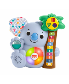 "Интерактивная игрушка ""Считающая коала"" серии Linkimals (рус.) Fisher-Price GRG60"