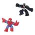 Игрушка-тянучка GooJitZu Спайдермен и Веном (Супергерои Марвел) 12 см 121638