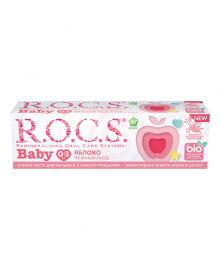 Зубная паста Rocs Baby Нежный уход Яблоко 45 г