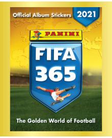 Наклейки-сюрпризы Panini FIFA 365 2021  8,01819E+12, 8018190012729