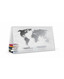 Travel Map® AIR World в рамі 105