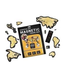 Скретч Карта Світу Travel Map MAGNETIC World 119