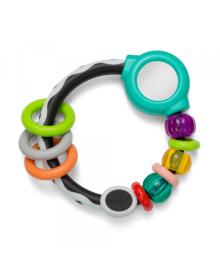 INFANTINO Прорізувач для зубів кільце з намистинами