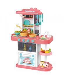 Игрушечный набор кухня арт. 889-166, свет, звук, вода, батар., 38 дет., В коробке 59,5 * 44 * 16 см