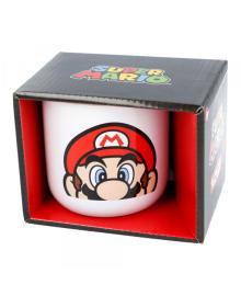 STOR Кружка керамическая для завтраков Супер Марио STOR CERAMIC BREAKFAST MUG 14 OZ IN GIFT BOX SUPER MARIO