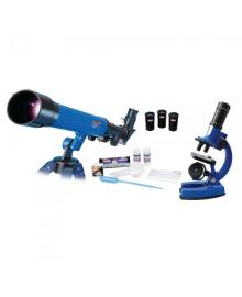 Набор из микроскопа и телескопа EASTCOLIGHT с аксессуарами