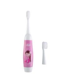 Электрическая зубная щетка Chicco Розовая