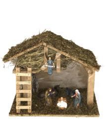 Рождественский Вертеп 30х25см 201120-002